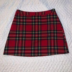 Primark plaid mini skirt !